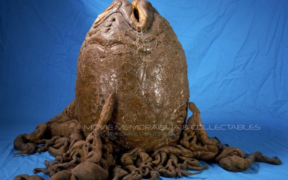 "Alien Resurrection: screen used tentacled egg, complete and ""unique""!"